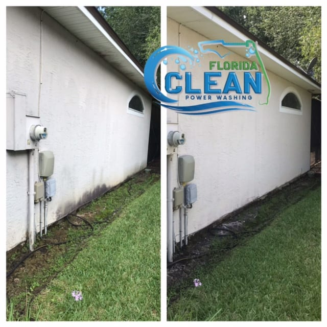 House Washing Services By Our Pros Your home should be your pride and joy — and with Florida Clean, we help make that dream a reality! Our safe, thorough house washing services deliver a fresh, new look. Imagine walking or pulling up to a sparkling clean exterior that brings a smile to your face every time. Protect Your Home Appearances and curb appeal are certainly important. But they aren't your only concerns as a homeowner. Damage prevention and maintenance are key, as well. The surface of your home is continuously exposed to dirt, moisture, pollutants, contaminants, and harsh elements. From bird droppings and insects to car exhaust, sea salt, and acid rain, these deposits leave their destructive mark on your house. Florida Clean removes all that disgusting grime, mildew, and debris with targeted power washing. We use state-of-the-art equipment to get your house surfaces spick-and-span. This restorative process eliminates years of buildup, stains, and baked in filth. As professionals, our cleaning technicians take special care to prevent water from entering your home — a potential error with DIY efforts. Additionally, our careful pressurized washing techniques prevent harm to your siding or other surface materials. Our dedicated team takes care of it all to make house washing a painless process for you. Safeguard Your Family's Health Accumulated pollutants on your house's surface can contribute to respiratory issues and other health concerns. Family members and even your pets may benefit from the removal of those irritants, like dust, pollen, and mold spores. Be the house on the block that everyone else covets for its pristine appearance. Reach out today for your Florida Clean experience. 100% customer satisfaction is our top goal!