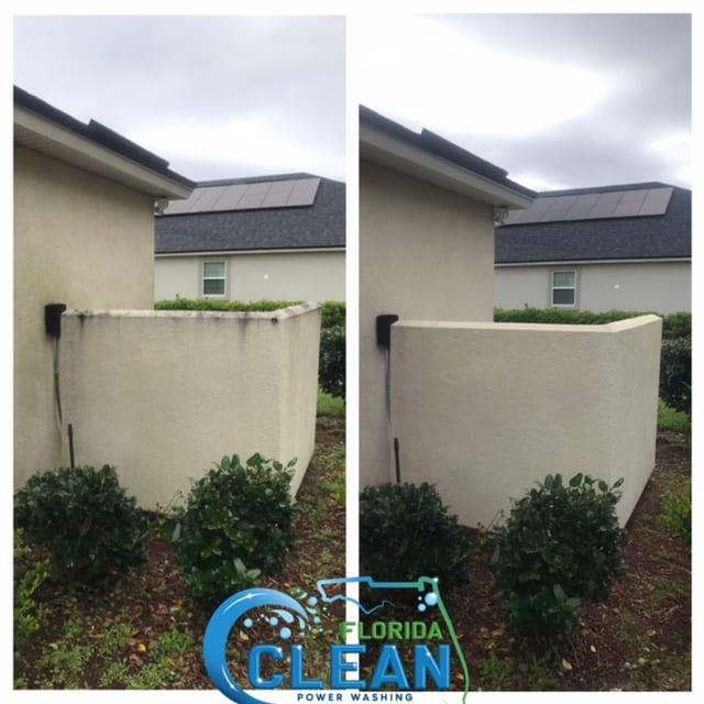 Your home should be your pride and joy - and with Florida Clean, we help make that dream a reality! Our safe, thorough house washing services deliver a fresh, new look. Imagine walking or pulling up to a sparkling clean exterior that brings a smile to your face every time. Protect Your Home Appearances and curb appeal are certainly important. But they aren't your only concerns as a homeowner. Damage prevention and maintenance are key, as well. The surface of your home is continuously exposed to dirt, moisture, pollutants, contaminants, and harsh elements. From bird droppings and insects to car exhaust, sea salt, and acid rain, these deposits leave their destructive mark on your house. Florida Clean removes all that disgusting grime, mildew, and debris with targeted power washing. We use state-of-the-art equipment to get your house surfaces spick-and-span. This restorative process eliminates years of buildup, stains, and baked in filth. As professionals, our cleaning technicians take special care to prevent water from entering your home — a potential error with DIY efforts. Additionally, our careful pressurized washing techniques prevent harm to your siding or other surface materials. Our dedicated team takes care of it all to make house washing a painless process for you. Safeguard Your Family's Health Accumulated pollutants on your house's surface can contribute to respiratory issues and other health concerns. Family members and even your pets may benefit from the removal of those irritants, like dust, pollen, and mold spores. Be the house on the block that everyone else covets for its pristine appearance. Reach out today for your Florida Clean experience. 100% customer satisfaction is our top goal!