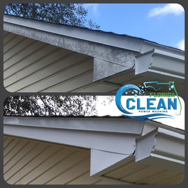 Routine gutter cleaning makes up a significant part of residential maintenance. Gutters redirect rainwater from your precious property. However, environmental pollutants such as leaves and twigs may gradually obstruct the water flow. Soggy build-ups may create damp habitats that attract pest infestations, leading to the spread of infections and diseases. Nevertheless, despite their essential function, homeowners may neglect clogged gutters due to their inaccessibility. Poorly maintained gutters may result in flooding, which damages roofs, sidings, landscape, and even building foundations. While it is tempting to seek affordable DIY solutions, the unprotected climbing of ladders may lead to falls and severe injuries, while using the wrong products could cause further damage to gutter pipelines. By hiring a cleaning professional such as Florida Clean Power Washing, homeowners can look forward to clean and functional gutters without fuss or complications. Specialized technicians have the skills and equipment to handle gutter cleaning safely and effectively. Additionally, experts may provide basic repairs (such as caulking and slope adjustments) and gutter assessments to keep home structures safe, avoiding costly replacement works. A quick evaluation from a trained eye could save homeowners a great deal of cost by taking prompt action against further deterioration. Why Hire Florida Clean Power Washing? Florida Clean Power Washing provides premium gutter cleaning services that eliminate the most stubborn stains and pollutants like algae and moss. The company manages each cleaning session with the support of experienced, certified, and insured technicians who offer quality service and cleaning standards every time. We only use the most advanced pressure washing technology, which avoids damaging your roof's delicate parts while giving gutters a deep clean. The company only uses non-toxic cleaning solutions safe for the environment, plants, and occupants. Homeowners can loo